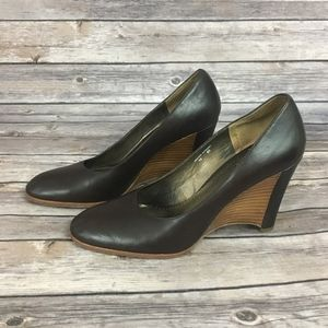 Donald J. Pliner Sport-i-que Brown Wedges